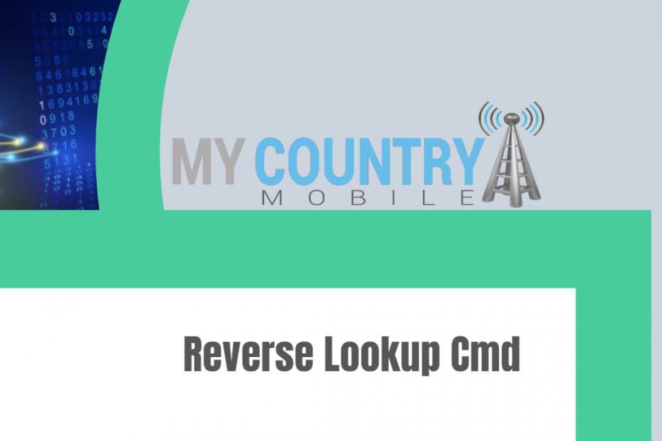 Reverse Lookup Cmd - My Country Mobile
