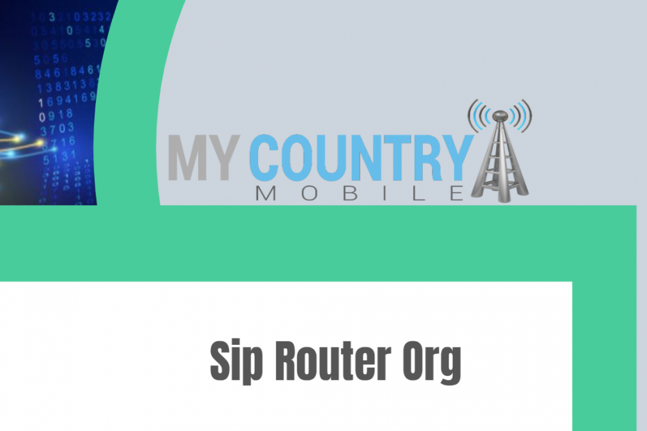 Sip Router Org - My Country Mobile